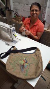 UpTica craftswomen Rita Fernández