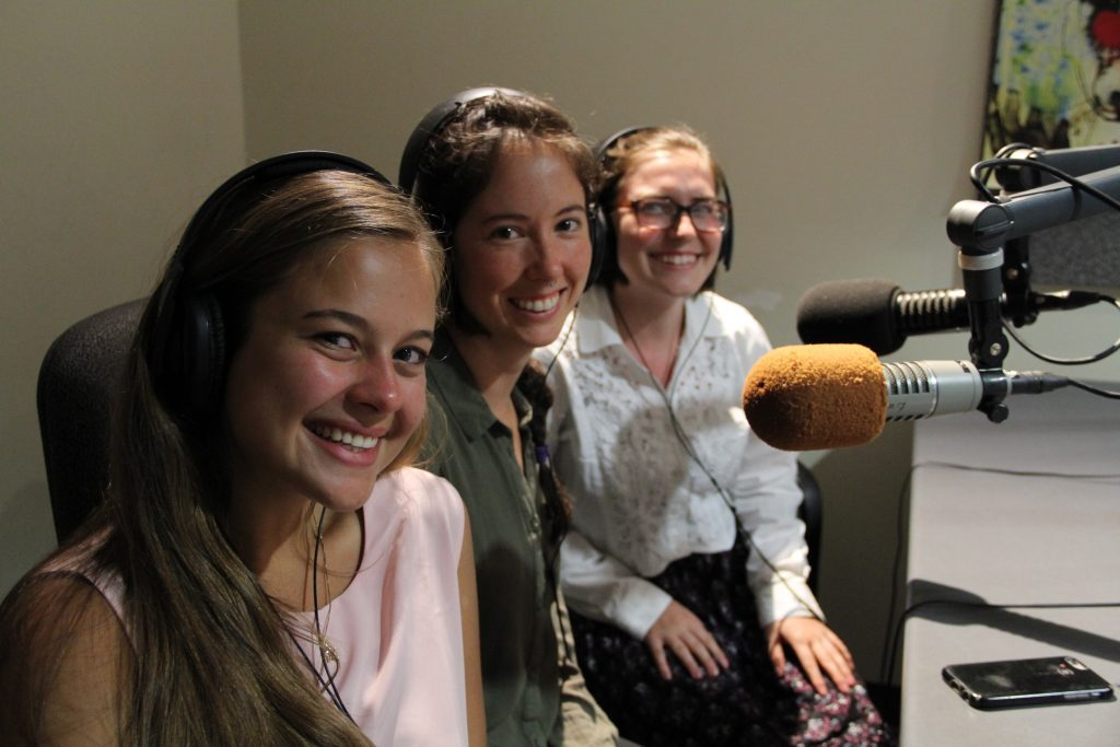 Katie Piel, Lauren Lucas, and Jackie Millonzi chatted about their Compost Stewards Project for the Green Fund.