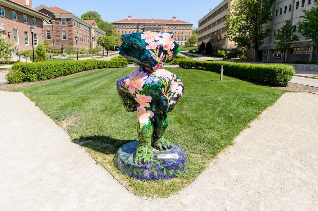 Bucky Badger public art