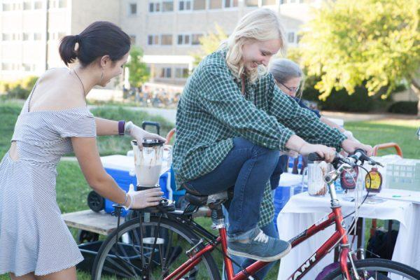 Blender Bike at Sustain-a-Bash