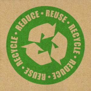 Reduce, Reuse, Recycle logo, courtesy Flickr user Social Gabe (CC BY-NC 2.0).
