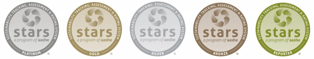 AASHE STARS seals