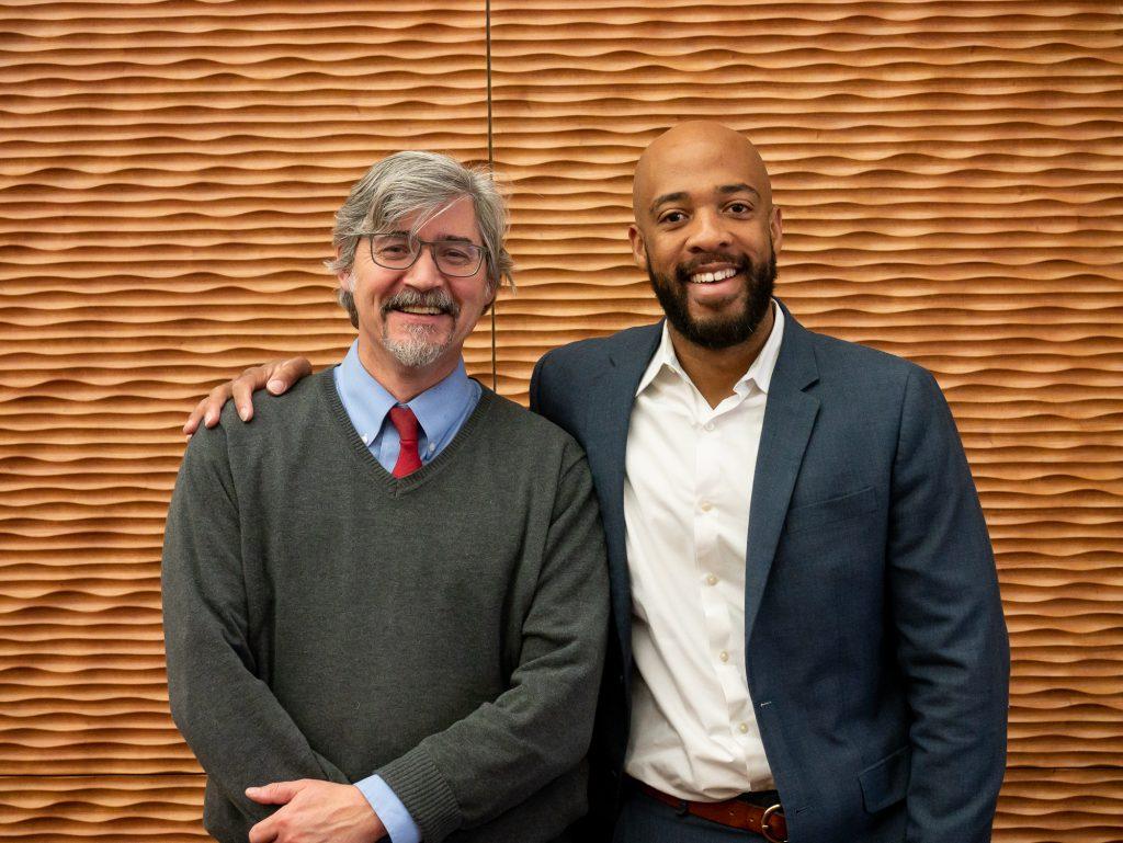 Paul Robbins and Mandela Barnes