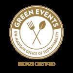 Green Event Bronze Certified Seal