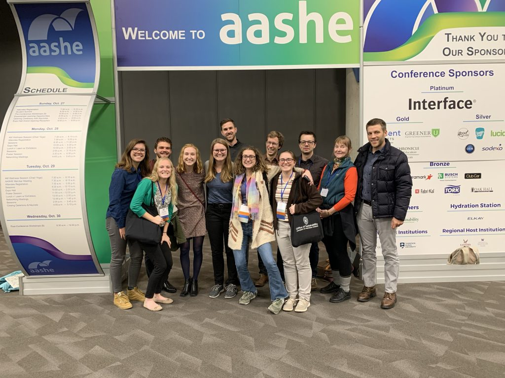 UW-Madison attending AASHE conference