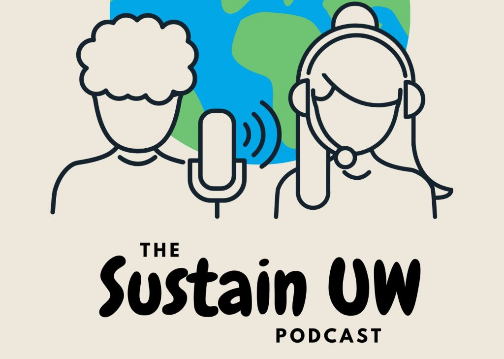 SustainUW Podcast logo
