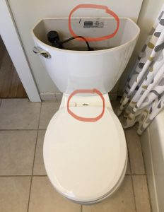 Toilet identification