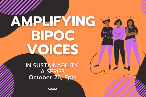 Amplifying BIPOC Voices poster