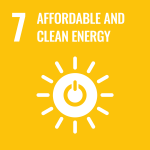 UN Affordable and Clean Energy icon