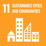 UN Sustainable Cities and Communities icon