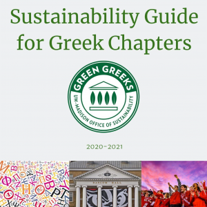 Sustainability Guide for Greek Chapters document cover